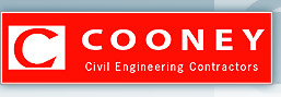 Cooney Civil Engineering Contractors Logo - Link to homepage